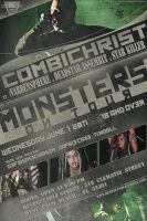 . Monsters on Tour by TheRottingLab