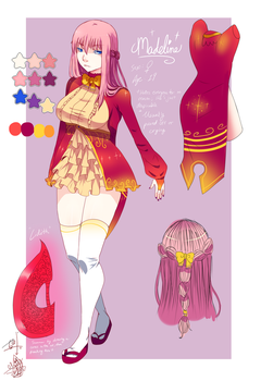 OC Ref: Madeline by oipster