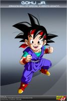 Dragon Ball GT - Goku Jr. by DBCProject