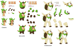 Chespin [Character Builder] by yoshiLover1000