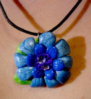 Flower Pendant by Lucky101212
