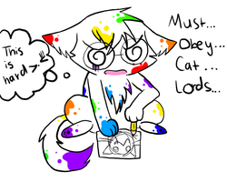 Must Obey Cat Lords... by Nami-Chan1999