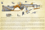 Steampunk Rifle by warp2002