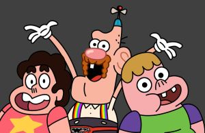 UncleGrandpa StevenUniverse Clarence by TooniverseKing