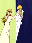 Ichigo: Marry with me, Orihime by klorma