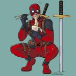 D is for Deadpool by jillybean200x