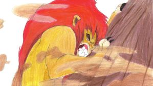 Mufasa's In Pain by MegBeth