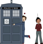The Doctor Loves His TARDIS by creativelemons