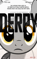 ''Derpy'' (Lucy Movie Poster Parody) by buckweiser