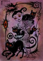 The Cat Lady by TrollGirl