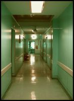 Hospital Corridor by Chocolate-Pict