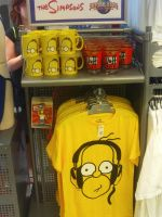 Simpsons stuff at NBCE 3 by MarioSimpson1