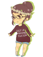 Person and chibi give away! by NotAMorningPerson