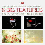 8 big textures - grunge unlim by yunyunsarang