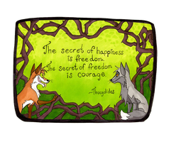 The secret of happiness by Viccinor