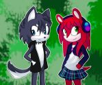 Berian and Kimberly (Contest Entrie for Myly14) by Pauline1321999
