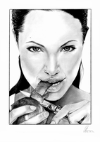 Angelina Jolie by susangere