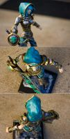 Riven Sculpture/Figure Thing - View 2 by Sushumo