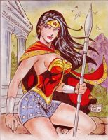 WONDER WOMAN by RODEL MARTIN (01042014B) by rodelsm21