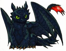 Toothless by jawazcript