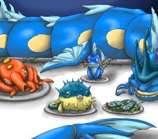 You wouldn't eat that Mudkip by Silverbirch