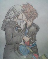 SoRiku - Kiss by kngdmhrts2