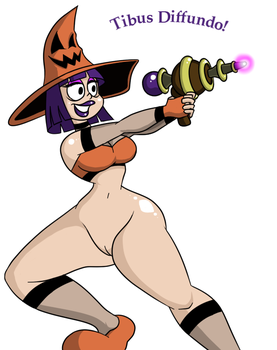 Witch Packin' Heat by HyperFlannel