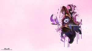 LoL - Lulu Wallpaper ~xRazerxD by xRazerxD