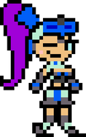 (GBA Color Palette) GBC Shantae in Beck Costume by ProfChristopher
