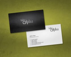 Tribe Alpha Business Card by aa3
