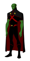 DC:New Earth Martian Manhunter Animated by kyomusha