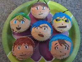 Digimon Cupcakes. by jjengo