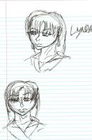Lyn face doodles by SirChristopher