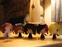 My Chemical Papercrafts by moose-on-a-jew
