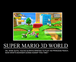 Super Mario 3D World Demotivational by thekirbykrisis