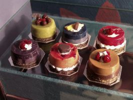 Miniature cheesecakes - 1 by fiat500S