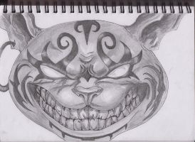 The Cheshire cat by misspants12