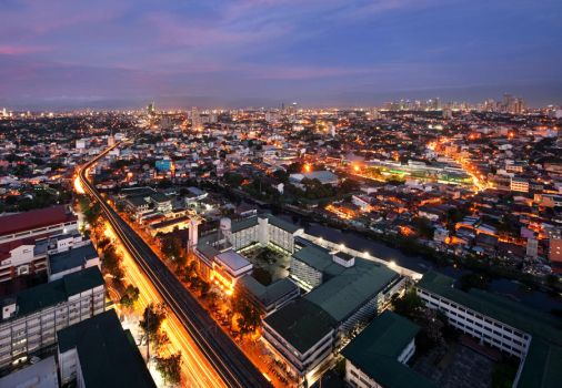 The Philippines Sky by Gaisano