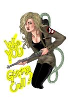 Who You Gonna Call? by blackangelofmine