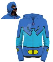 Bluebeetle Tedkord Hoodie by Needham-Comics