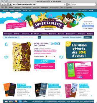 Supertab Website by paroledemoi