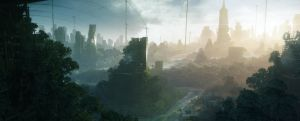 Crysis 3|NYC Forest by Pino44io