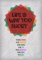 Life is Short by RoundDrop