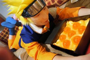 Ramen or Hokage? (Naruto Cosplay) by Stray-Cat-Yoru