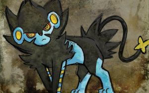Luxray by laurafufu