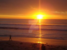 Encinitas Sunset by cassaw-creative