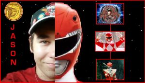 Mighty Morphin Power Rangers - Me as Red Ranger by DoctorWhoOne