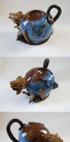 Catastrophe Teapot by ForeverTuesday