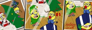 Christmas At Gru's by vampire-L