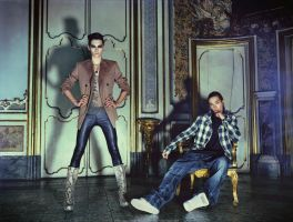 Bill and Tom Kaulitz for Vogue by michelle2119